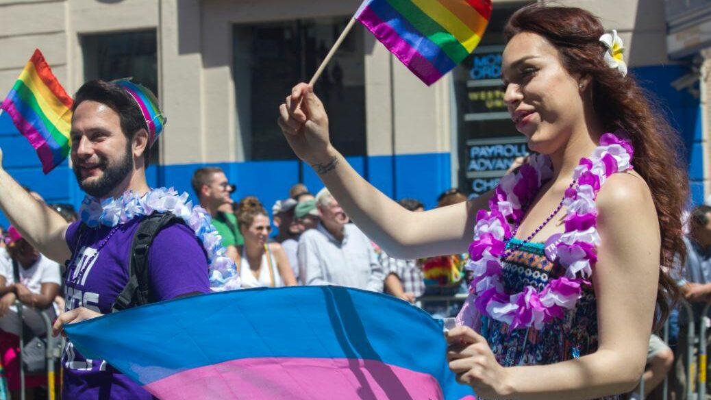 Transgender parade
