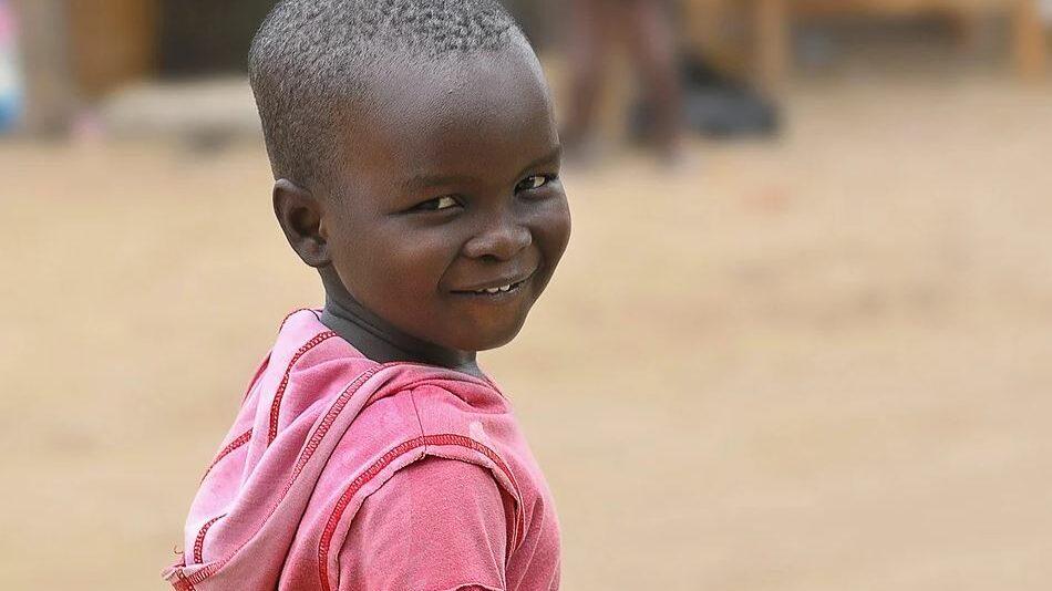 African kid