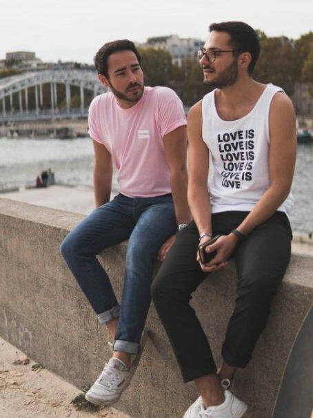 a gay couple