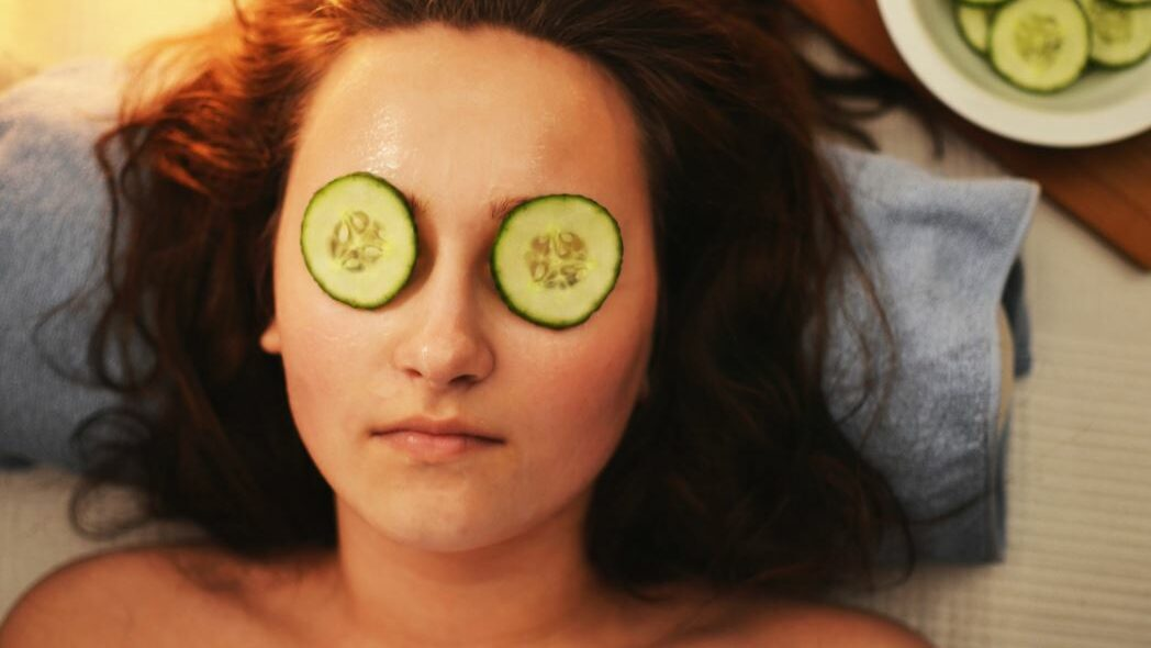 girl during massage