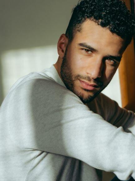 handsome Arab guy