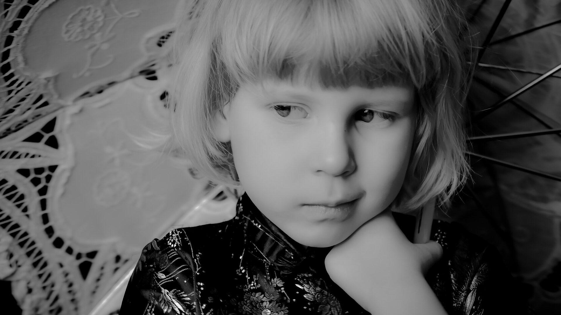 sad transgender kid