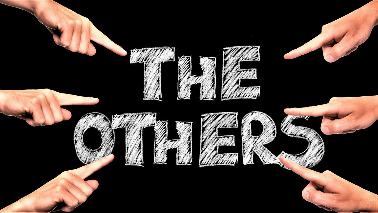 """the words """"the others"""""""