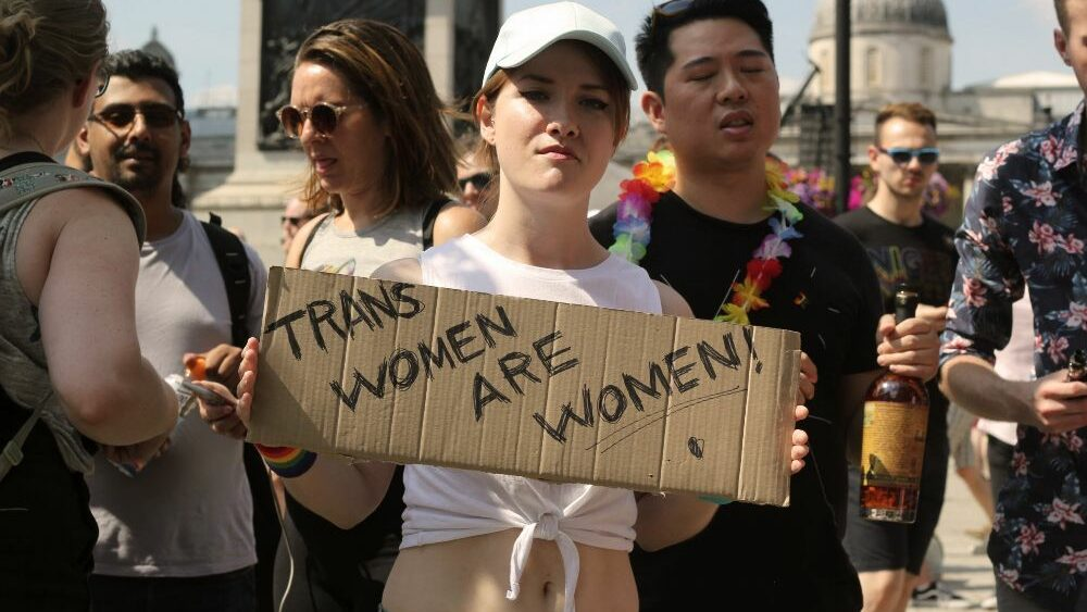 a trans women
