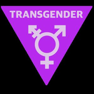 Inverted Triangle Transgender Symbol