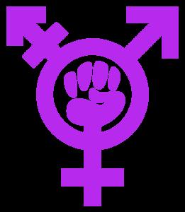 Symbole Trans Activiste