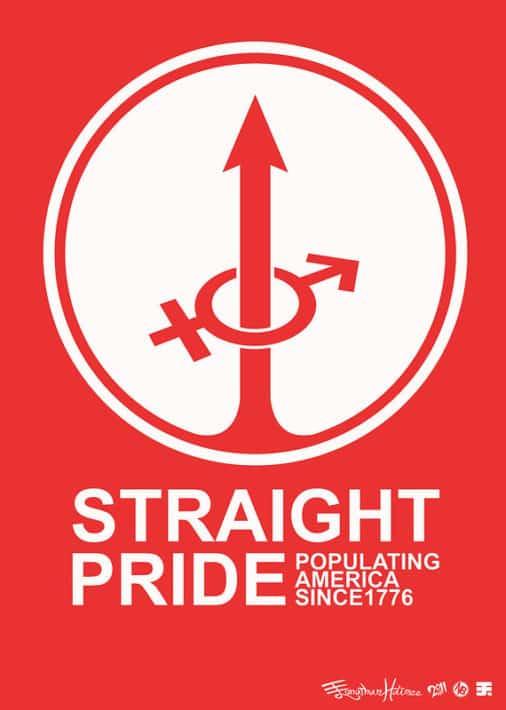 Affiche marche Anti-Pride