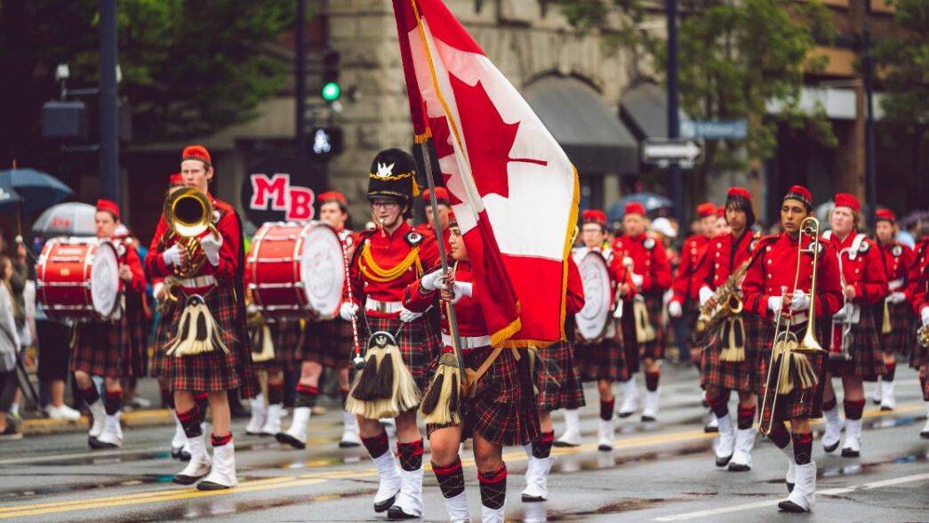 parade au canada
