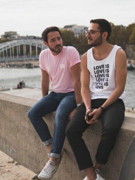 deux hommes gay
