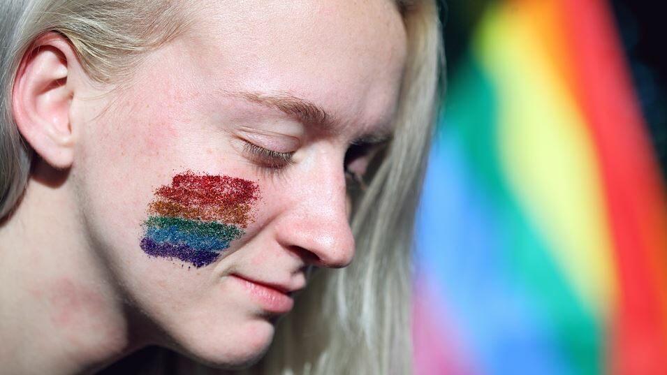 une femme trans